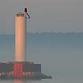 Harbor Beacon by Odd Jeppesen