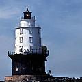 Harbor Of Refuge Lighthouse by Skip Willits