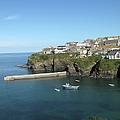 Harbour In Port Isaac, Cornwall by Thepurpledoor