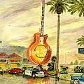 Hard Rock Cafe Las Vegas by Melly Terpening