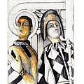 Harlequins by Bob Salo