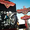 Harley Davidson Cafe Las Vegas by Debbie Karnes