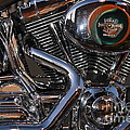 Harley-davidson Motorcycle . 7d12758 by Wingsdomain Art and Photography