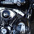 Harley Engine by Jeff Lowe
