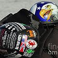 Harley Helmets by Cindy Manero
