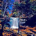 Harrison Wright Falls In Fall by Rich Walter