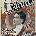 Harry Houdini King of Cards by Unknown