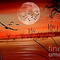 Harvest Moon by Erica Hanel
