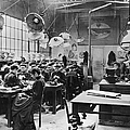 Hat Factory, C1900 by Granger