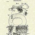 Hat Mirror 1903 Patent Art by Prior Art Design