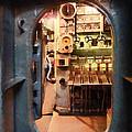 Hatch In Submarine by Susan Savad