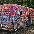 Haunted Graffiti Bus II by Susan Candelario