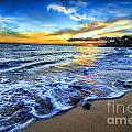Hawaii Sunset by Christian Jelmberg