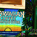 Hawaiian Coffee by Bob Christopher