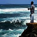 Hawaiian Fisherman by Marilyn Hunt