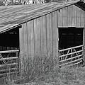 Hay Barn In The Back 40 by Jim and Kim Shivers