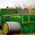 Hay Tractor by LeeAnn McLaneGoetz McLaneGoetzStudioLLCcom