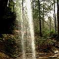 Hcking Hills Waterfall by Inga Smith