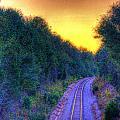 Hdr- Railroad Tracks by Joe Myeress
