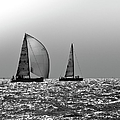 Heading Home Solent by Gary Eason