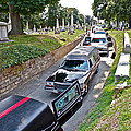 Hearses At Laurel Hill Cemetery by Alice Gipson