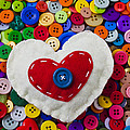 Heart Buttons by Garry Gay