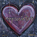 Heart Of Appreciation by Laurie Maves ART