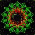 Heart Of Buddha by Wayne Bow