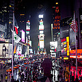 Heart Of Times Square by Heidi Reyher