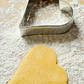 Heart Shaped Christmas Cookie by Matthias Hauser