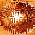 Heat Wave - Abstract Art by Carol Groenen
