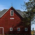 Heflin Barn Headon by Edward Peterson