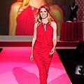 Heidi Klum Wearing A John Galliano Gown by Everett
