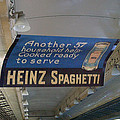 Heinz Spaghetti Train Ad Signage Digital Art by Thomas Woolworth