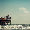 Helter-skelter On Brighton Pier  by Paul Grand