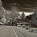 Helvetia Wv Monochrome by Steve Harrington