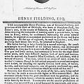 Henry Fielding (1707-1754) by Granger