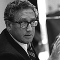 Henry Kissinger In A Meeting Following by Everett