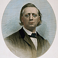 Henry Ward Beecher (1813-1887). American Clergyman. At Age 50: Steel Engraving, 19th Century by Granger