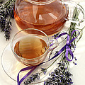 Herbal Tea And Lavender by Erika Craddock