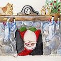 Here Comes Santa Claus by Sylvia Pimental