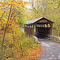 Herns Mill Covered Bridge by Harold Rau