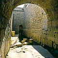 Hezikiahs Tunnel Pool Of Shiloah by Daniel Blatt