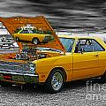Hi-powered Dodge Abstract by Randy Harris