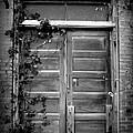 Hidden Door B And W by Lyndi Heckaman