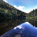 Hidden Mountain Pond  by Skip Willits