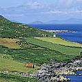 High Angle View Of A Coastline, Beara by The Irish Image Collection