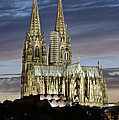 High Cathedral Of Sts. Peter And Mary In Cologne by Heiko Koehrer-Wagner
