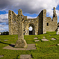 High Cross At Clonmacnoise, County by Chris Hill