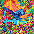 High Heels Abstraction by Kenal Louis